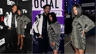 DE'ARRA AND KEN AT BET SOCIAL AWARDS   REALLY PROUD OF THEM   DK4L SNAPCHAT AND INSTAGRAM STORIES