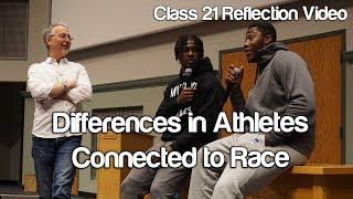 """Differences in Athletes Connected to Race"" - #Soc119"