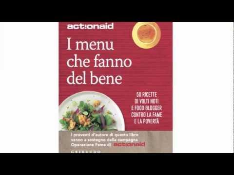 """Libro """"I menù che fanno del bene""""! Vip e foodblogger contro la povertà. C'è Claudia Annie!"""