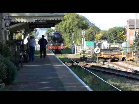 (HD) West Somerset Railway, Cambrian Autumn Gala. Thurs 3rd Oct-Sun 6th Oct 2013.