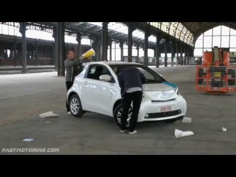 Toyota iQ Font - The Making