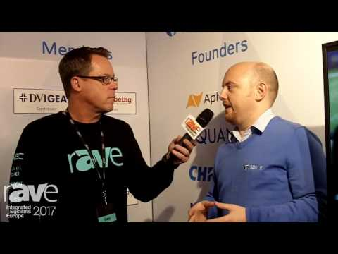 ISE 2017: Gary Kayye Interviews SDVoE Alliance President Justin Kennington