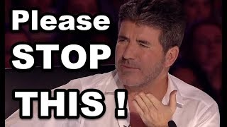 "SIMON COWELL STOPS THEM and Gives SECOND CHANCE! TOP Simon's ""DISCOVERY"" MOMENTS?"