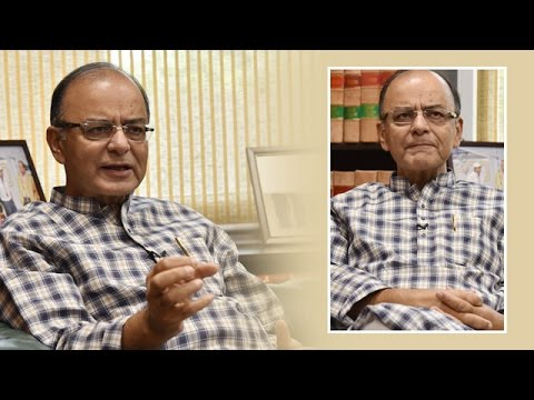 Finance Minister Arun Jaitley's Spl. interview with Ajit Web TV on Modi govt's one year Performance.