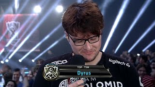 "Dyrus retirement interview: ""Time to start a new book, my story ends here"". Good bye Dyrus :("