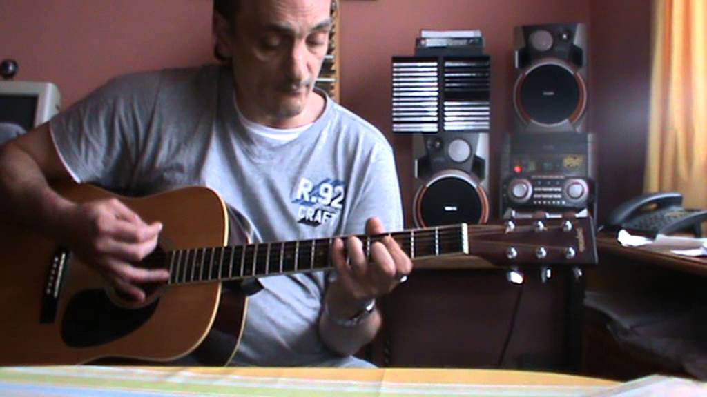 Eros ramazotti se bastasse una canzone guitare acoustique - YouTube