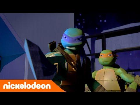 Черепашки-ниндзя | Первый бой против Шредером | Nickelodeon Россия