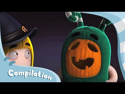 Oddbods | Halloween Compilation