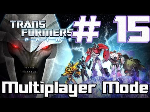 Transformers: Prime -- The Game - Part 15 - Recent episodes (Wii U)