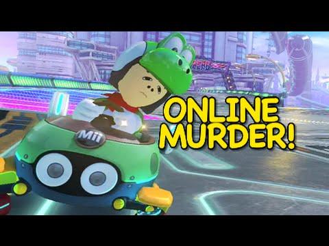 ONLINE MURDER! [MARIO KART 8]