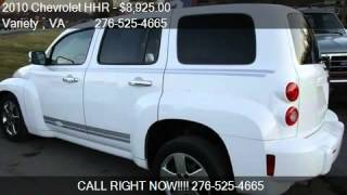 video This 2010 Chevrolet HHR LS 4dr Wagon is for sale in Abingdon, VA 24210 at Variety . Contact Variety at www.varietycarsales.com or www.carsforsale.com/used-cars-for-sale/2010-chevr...