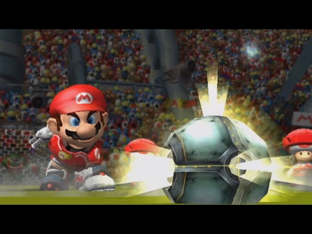mario strikers charged wii raging and funny moments