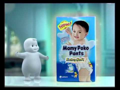 Mamy Poko Pants   Soft Touch 30 video