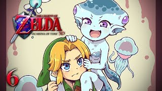 CARRY ME, LINK! - Let's Play - The Legend of Zelda: Ocarina of Time 3D - 6 - Walkthrough