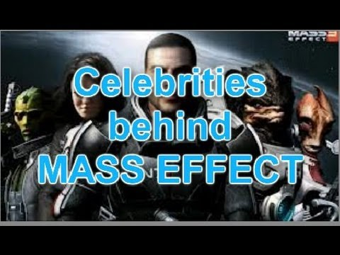 Mass Effect Trilogy Celebrities Freddie Prinze Jr, Martin Sheen, and More