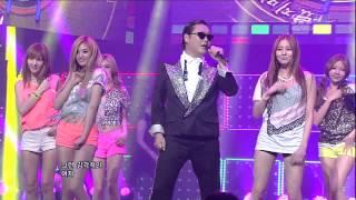 PSY_0729_SBS Inkigayo_GANGNAM STYLE (강남스타일)