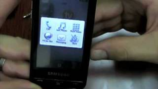 Samsung Eternity a867 (AT&T) - Hands-On