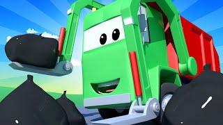 Tren para niños - Gary El Camión de Basura 4 | Troy el tren en Auto City