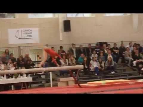 Gym artistique féminine Equipe de France pour les championnats d'Europe 2014