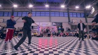 Finał Popping 2vs2 - Alex i Alkowy vs Art of Popping | Big Dance Elite 2017 | WWW.BREAK.PL