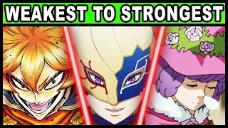 Every Magic Knight Captain RANKED from Weakest to Strongest! (Black Clover)