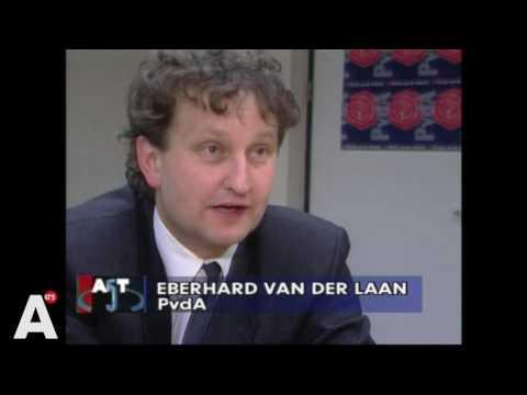 Eberhard van der Laan als raadslid