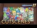 Mega Man 11 - All Cutscenes