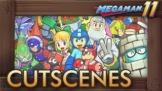Mega Man 11 - All Cutscenes