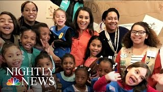 Meet NYC's First Homeless Girl Scout Troop | NBC Nightly News