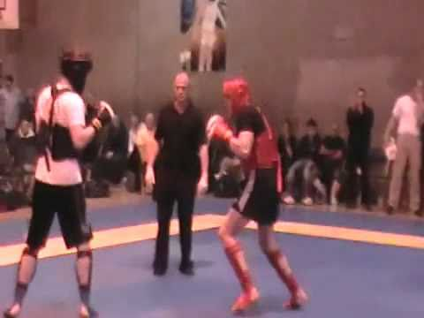 victor manahac(ROYAL COMBAT CLUB) vs Joe Melvin - SanShou Nationals-  -85kg Final (Rd1).flv Image 1