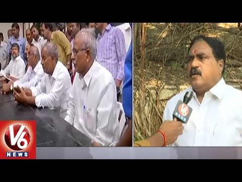 Face to Face with Errabelli Dayakar Rao Over Congress TDP Alliance | V6 News