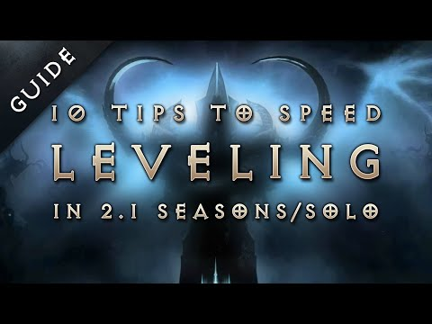 10 Fast Leveling Tips for Patch 2.1 Seasons in Diablo 3 Reaper of Souls