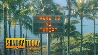 False Alarm In Hawaii Triggers Panic: How Did This Happen?   Sunday TODAY