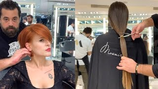 New Hairstyles Tutorials by Mounir | Amazing Hair Transformations 2019