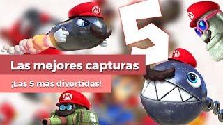 TOP 5 mejores capturas de Super Mario Odyssey [Spoilers]