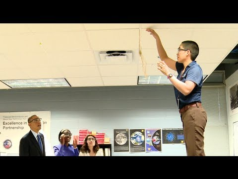Behind the Scenes: President Obama's Middle Class Jobs & Opportunity Tour - Austin, Texas