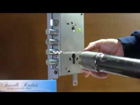 Cambiare serratura cilindro europeo
