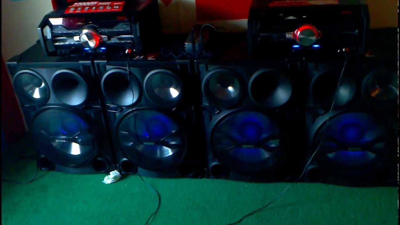 TWO Sony DJ Shake Fst-2000 - YouTube