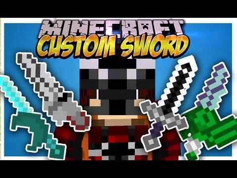 Custom Sword MOD (Crea tus espadas y ponles habilidades) Español Minecraft 1.7.10/1.7.2