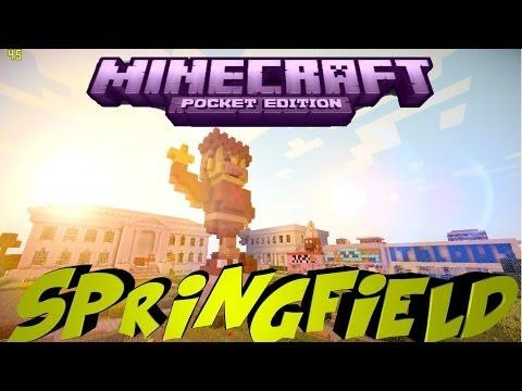 Minecraft PE Custom Map SpringField [DOWNLOAD]
