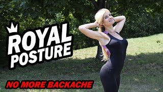 Royal posture in 5 min a day. No more backache  - LaFit Club