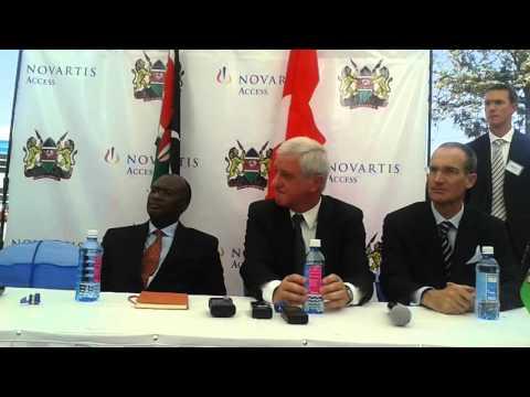 Launching of Norvatis Acess Kenya