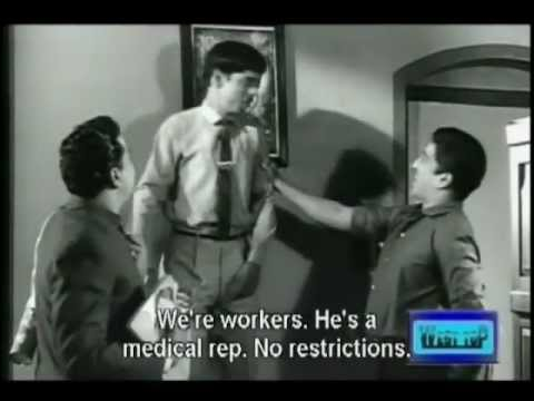Nagesh Comedy Snippets In Bama Vijayam- Part 1 With English Subtitles video