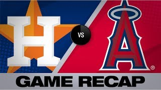 Halos use 6-run 1st to cruise by Astros | Astros-Angels Game Highlights 7/16/19