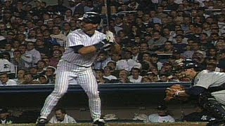 1995 ALDS Gm1: Don Mattingly's first postseason hit