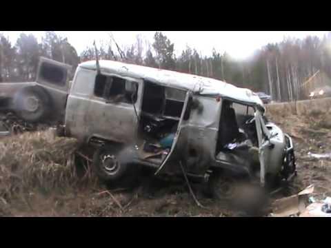 Real Life Spin Tires | УАЗ авария. Я досмотрел до конца!!!