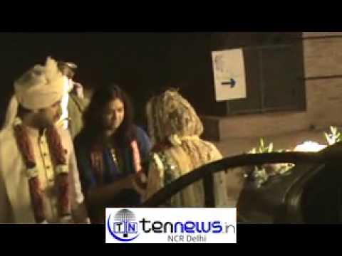 Bollywood actress Dia Mirza with Sahil Sangha wedding Ceremony