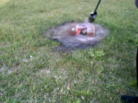 Weed Torch Using A Propane Weed Torch To Kill Weeds