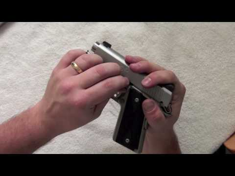Kimber Ultra Carry 2 Reassembling in HD