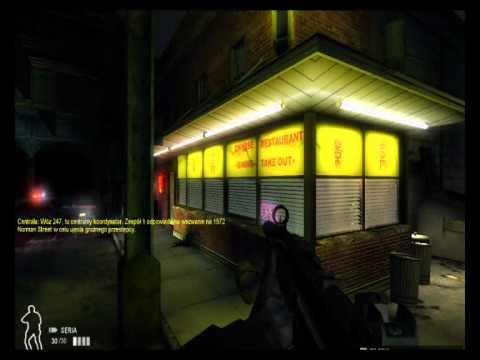 Zagrajmy w SWAT 4 #1 - Restauracja Food Wall